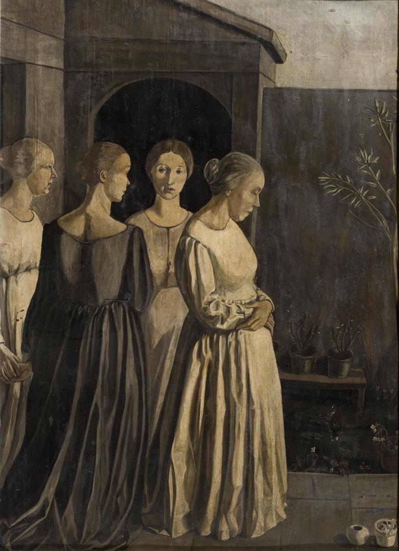 Donne sulla terrazza