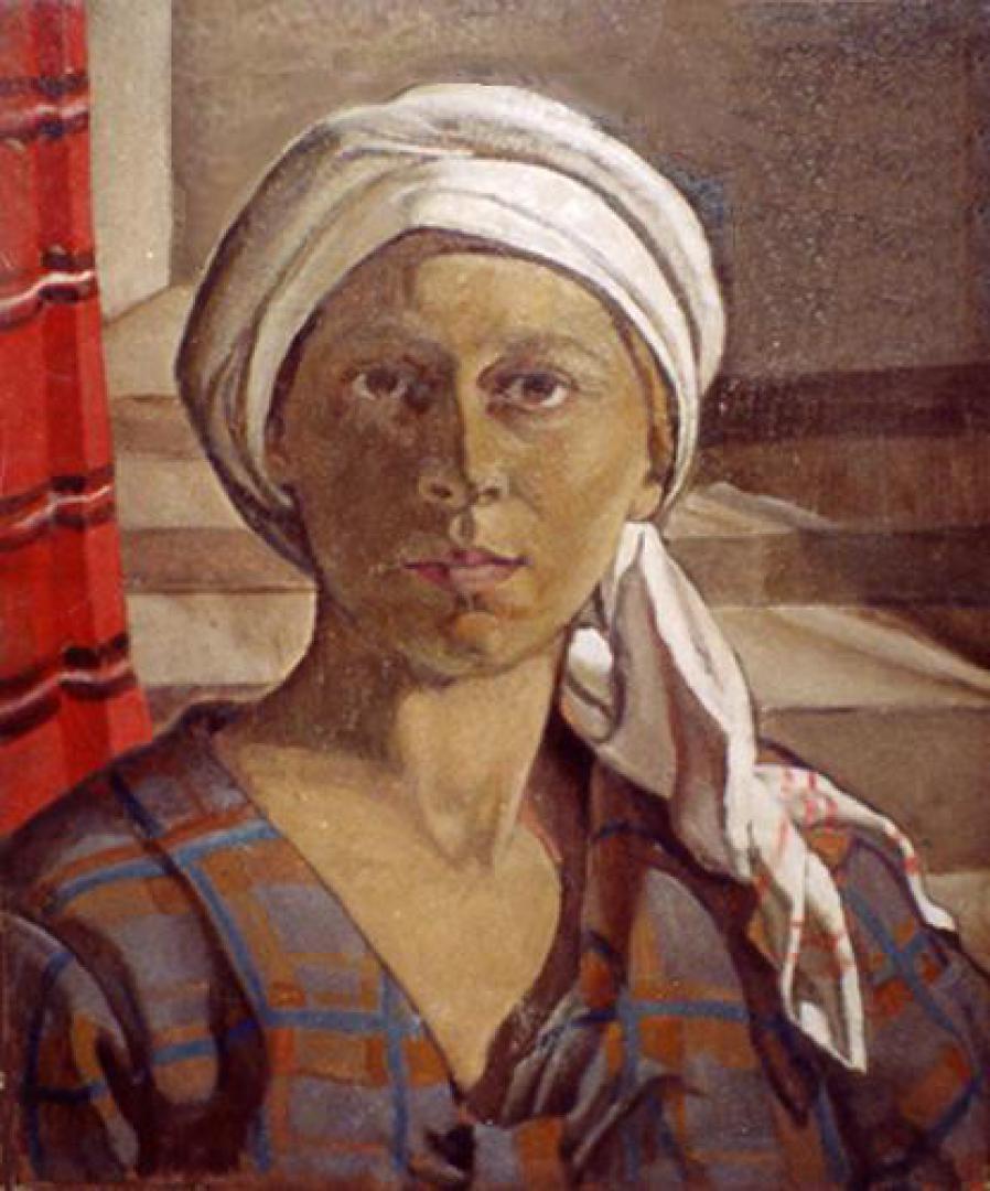 Donna col turbante