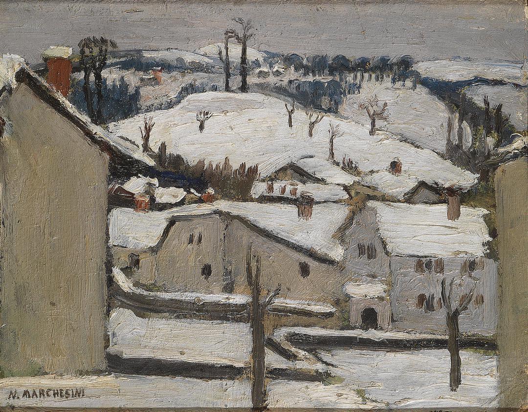 Drusacco Canavese (Paesaggio innevato)