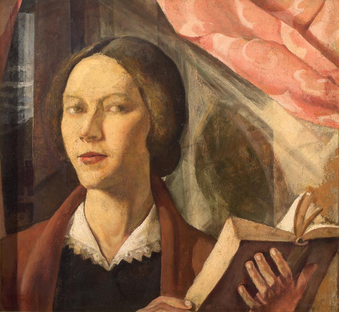 Autoritratto con il libro