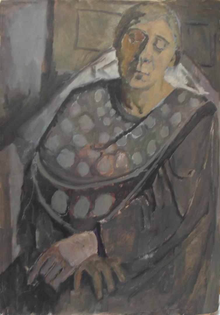 Donna con le mani in grembo (La madre)