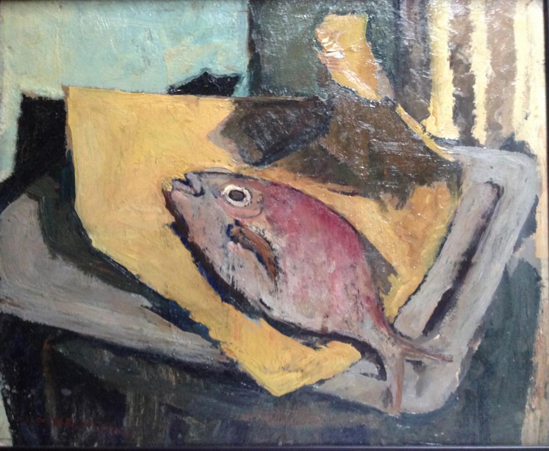 Pesce sul vassoio