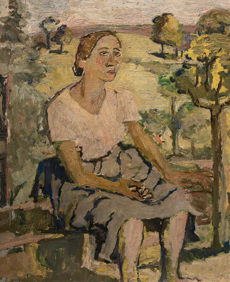 Autoritratto nel giardino