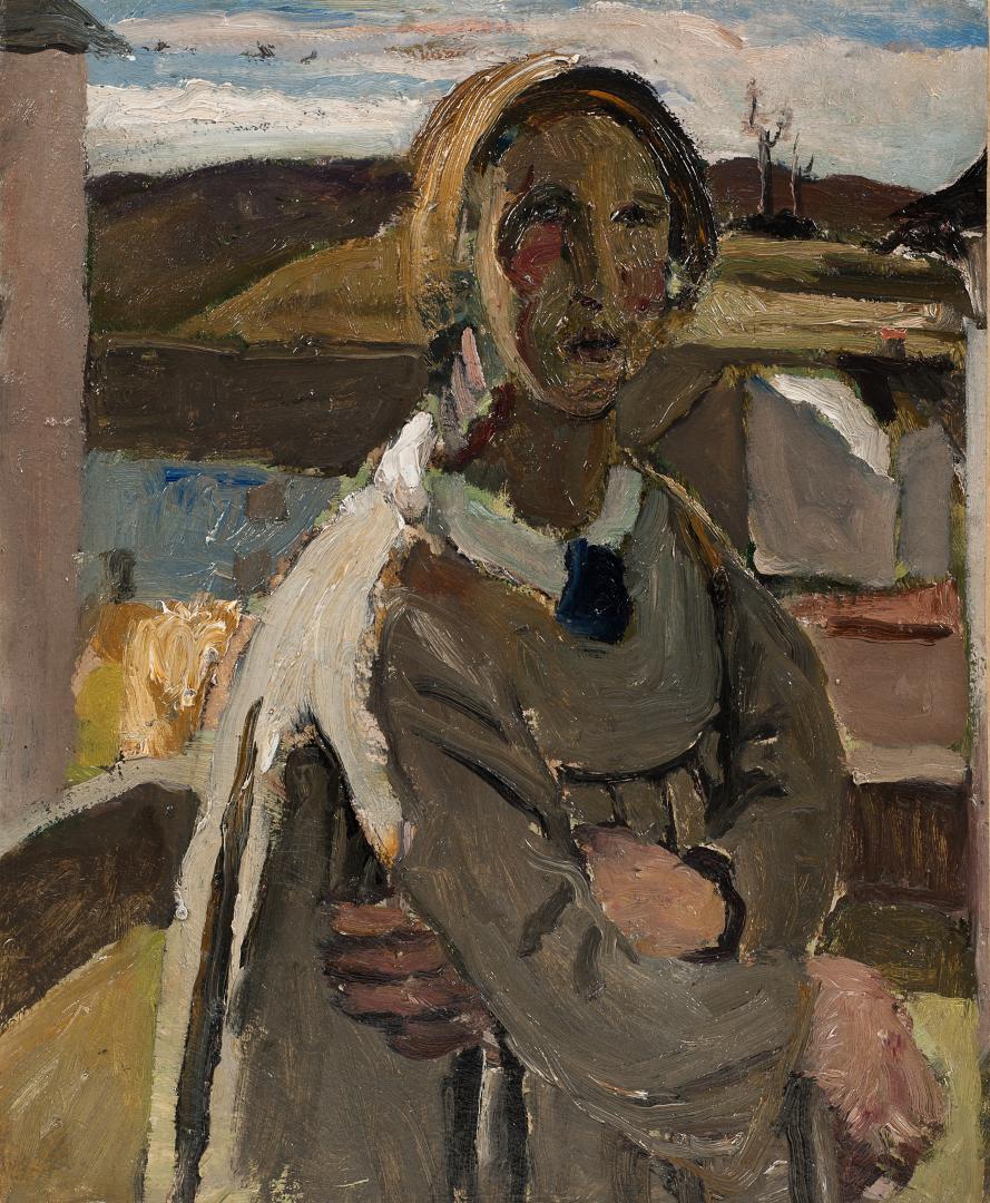 Autoritratto nel paesaggio di Drusacco