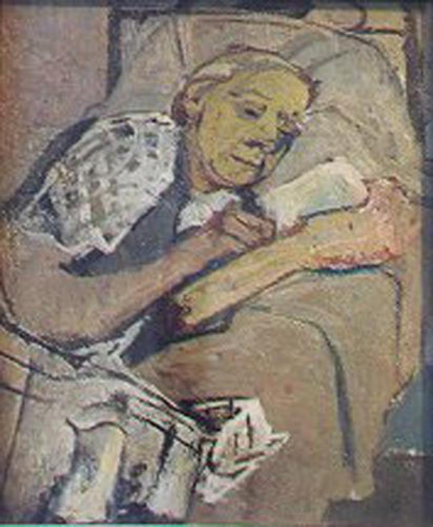 Lettura serale (la madre)