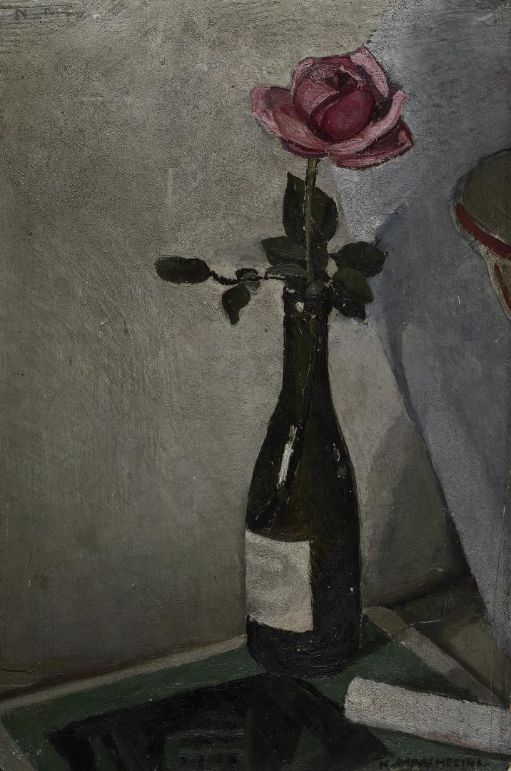 Rosa nella bottiglia