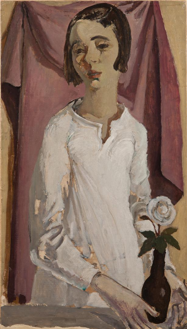Ritratto di bambina (la figlia Anna)