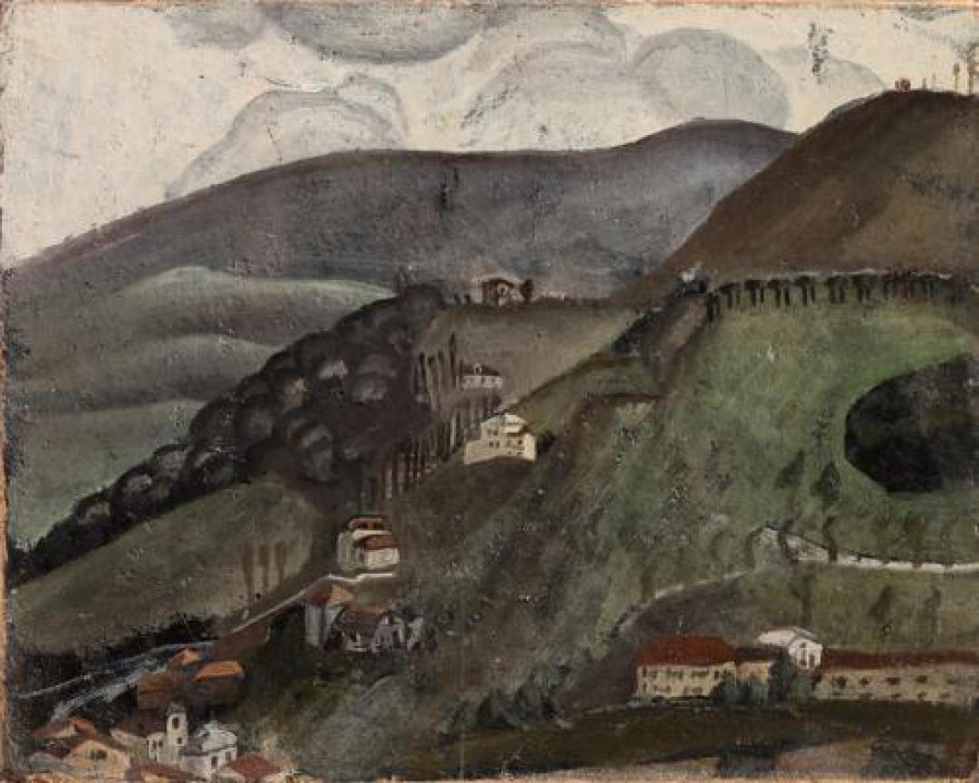Case sulla collina