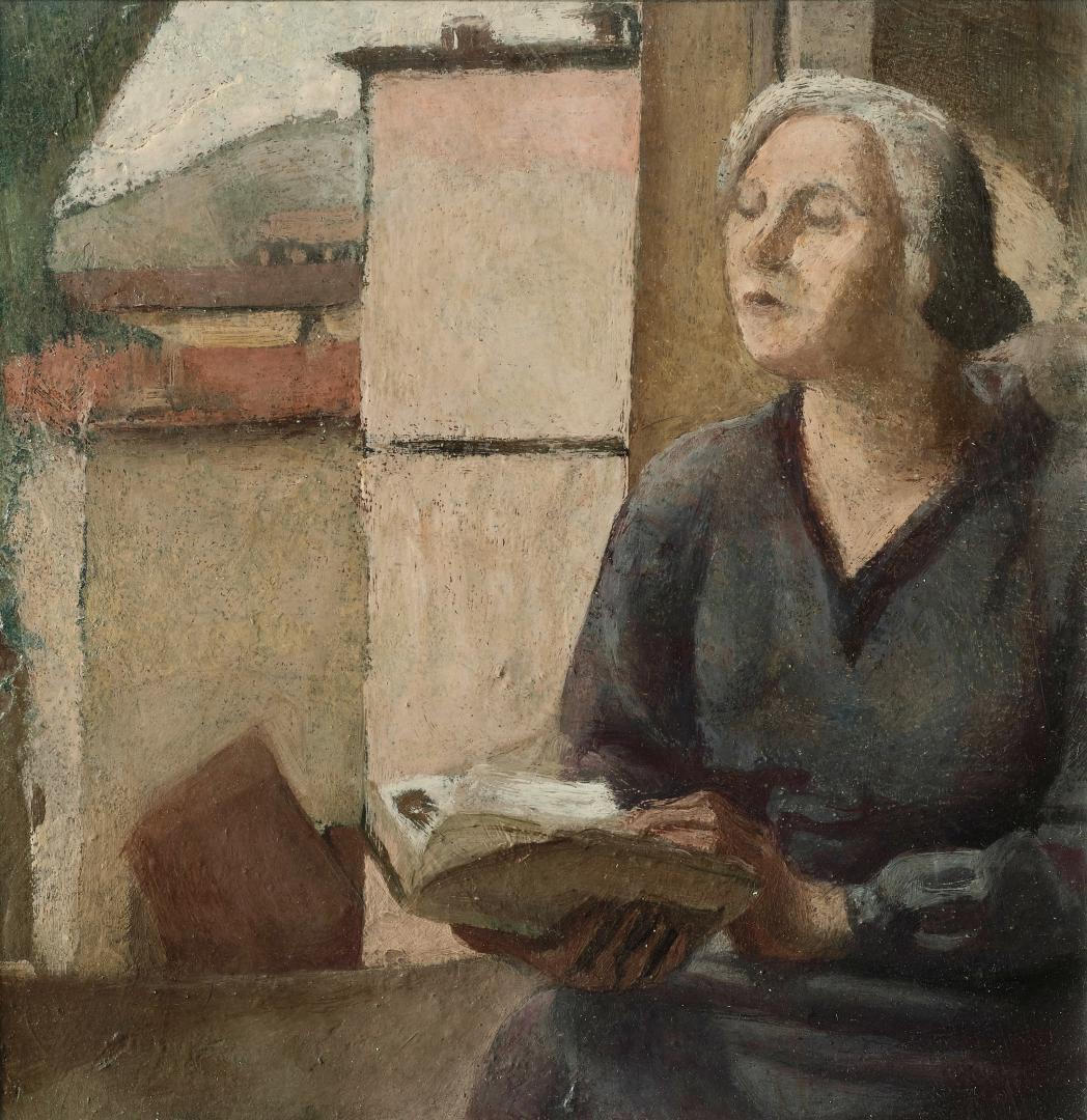 La madre alla finestra