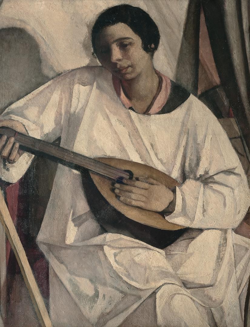 Dadi con il mandolino