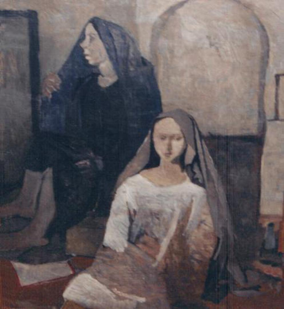 Figure (Due donne col velo)