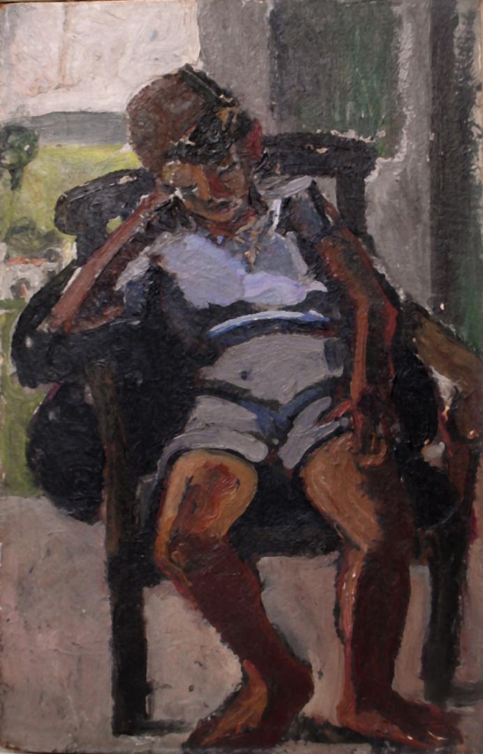 Renzo seduto