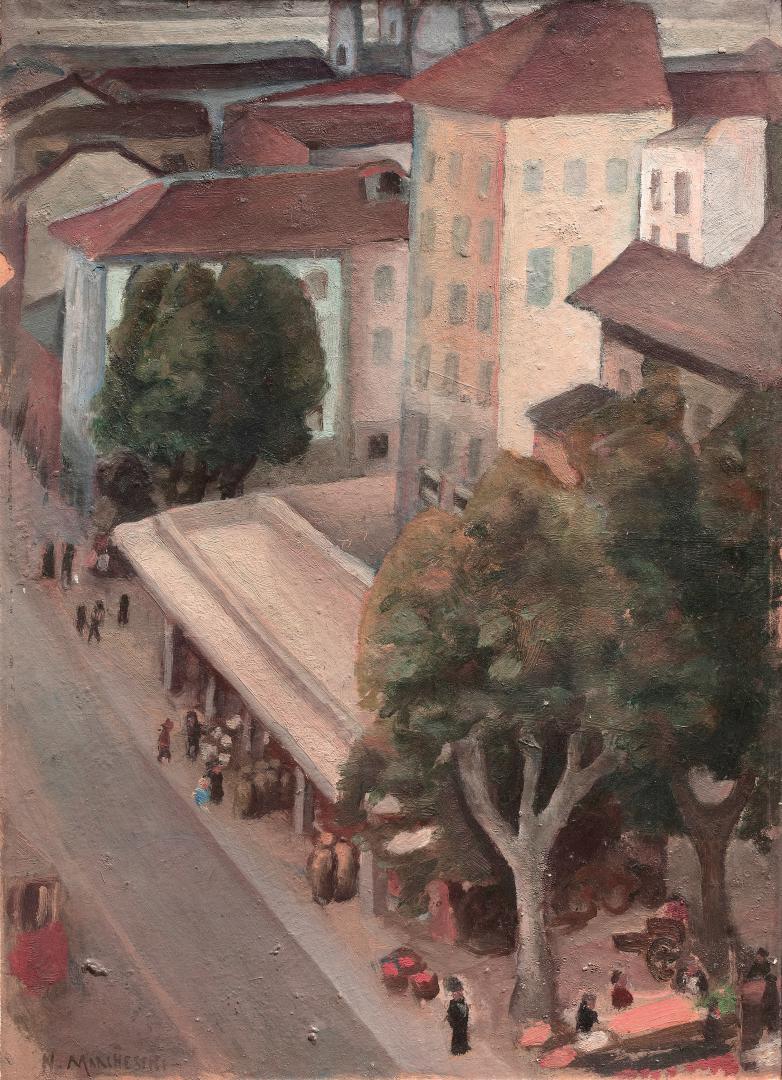 Il mercato di piazza Madama Cristina