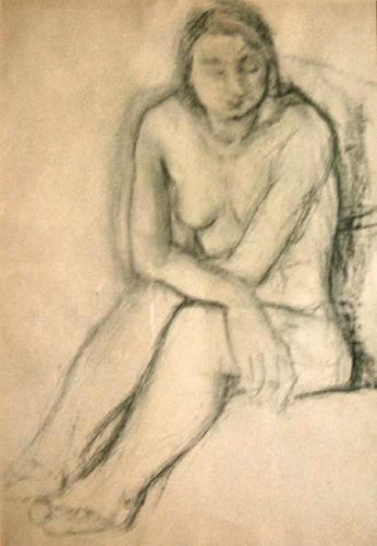Figura femminile (nudo)