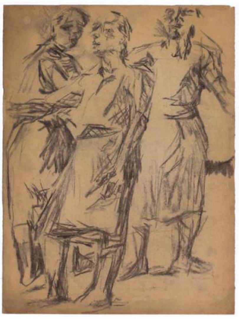 Tre figure (Autoritratti)