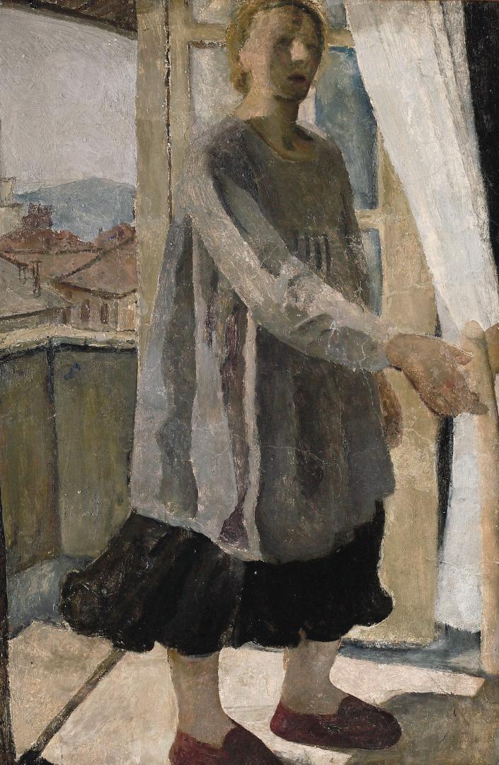 Figura alla finestra (Autoritratto)