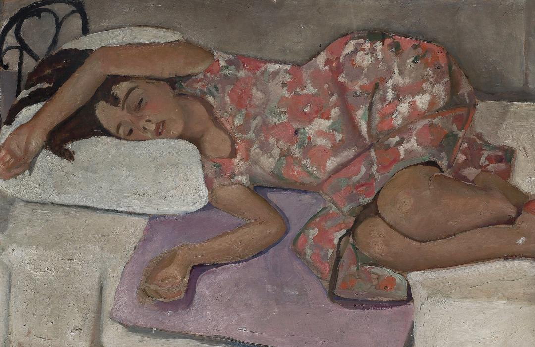Figura in riposo (la sorella Dadi)
