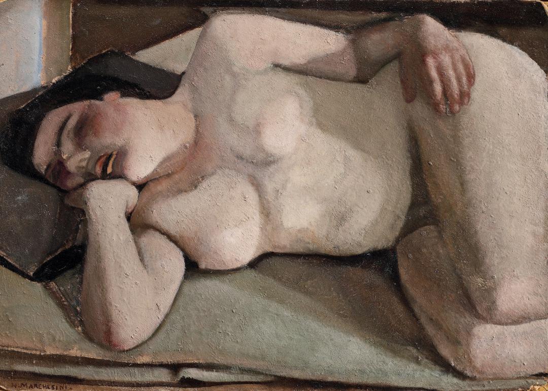 Donna che dorme (Nudo)