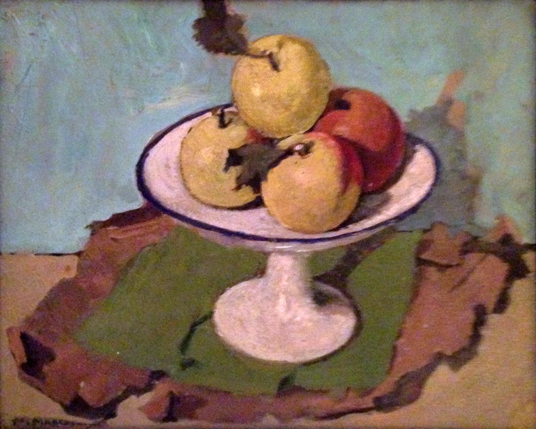 Fruttiera con le mele