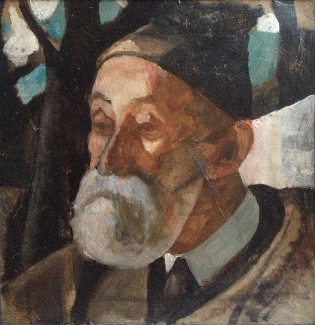 Il padre con il berretto
