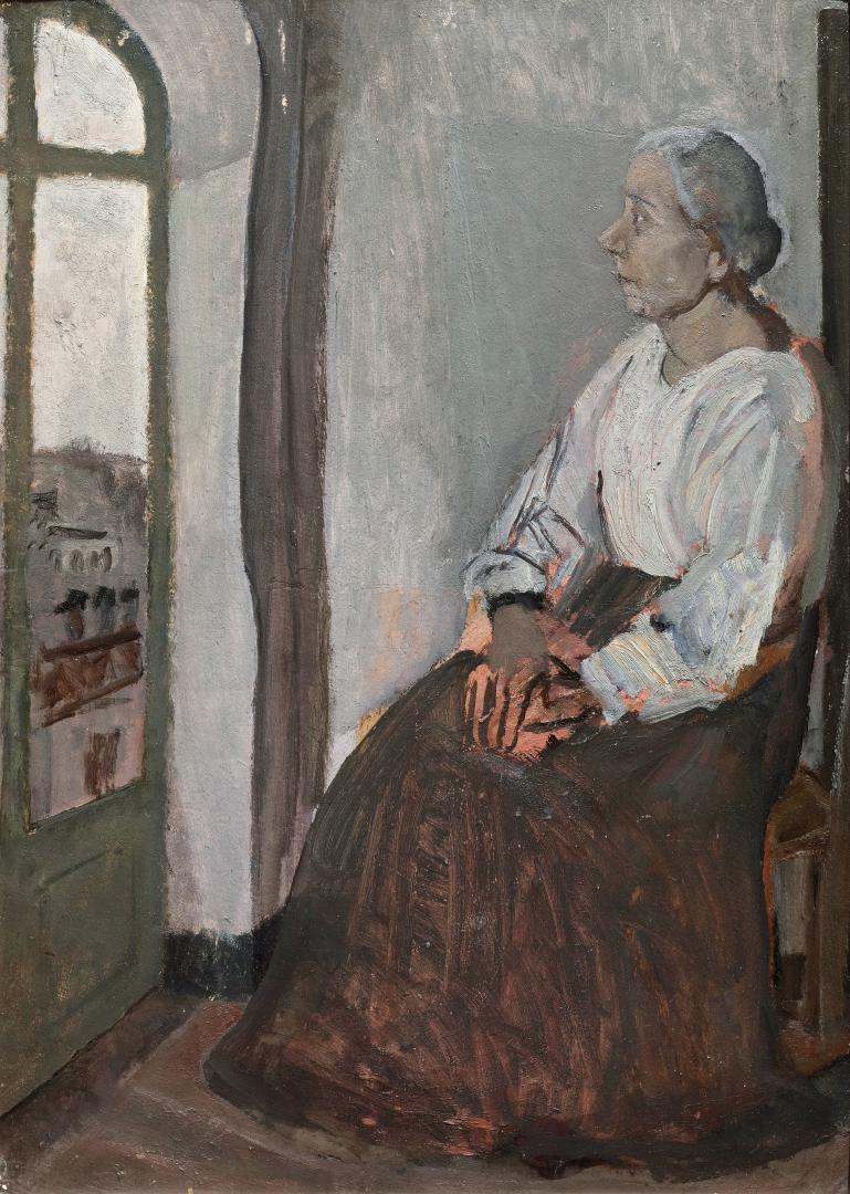 Ritratto della madre (alla finestra)