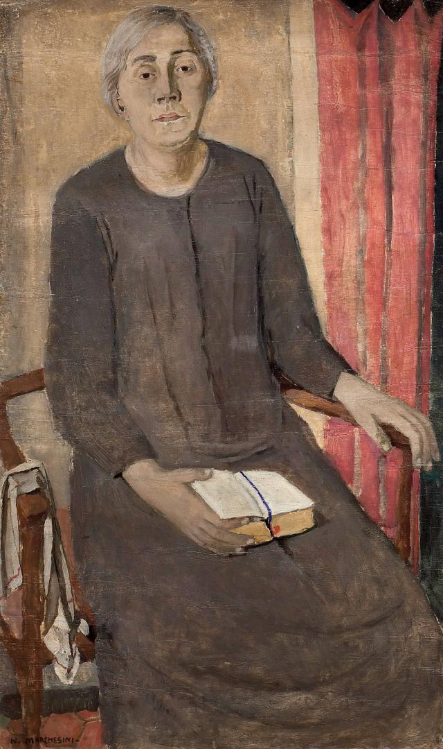 La madre con il libro