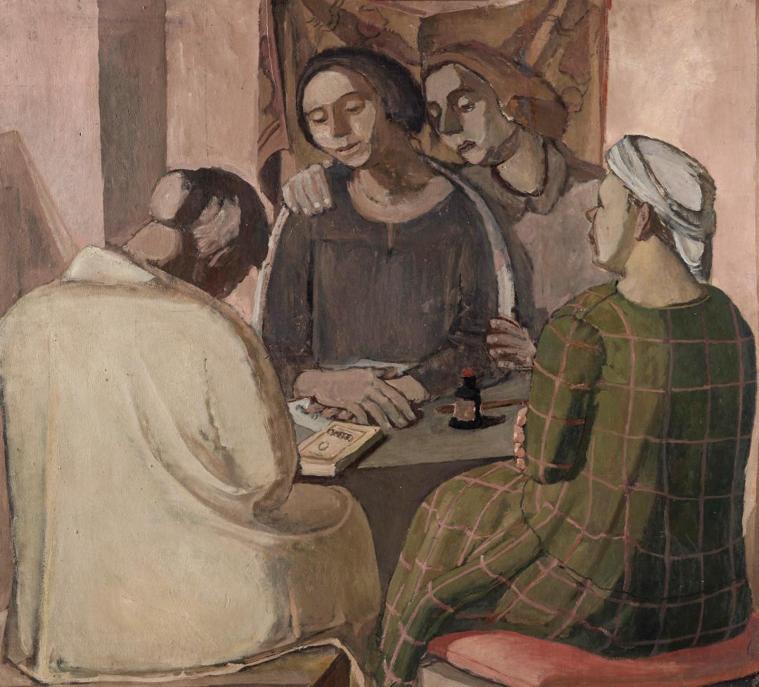 Donne intorno al tavolo (Omero)