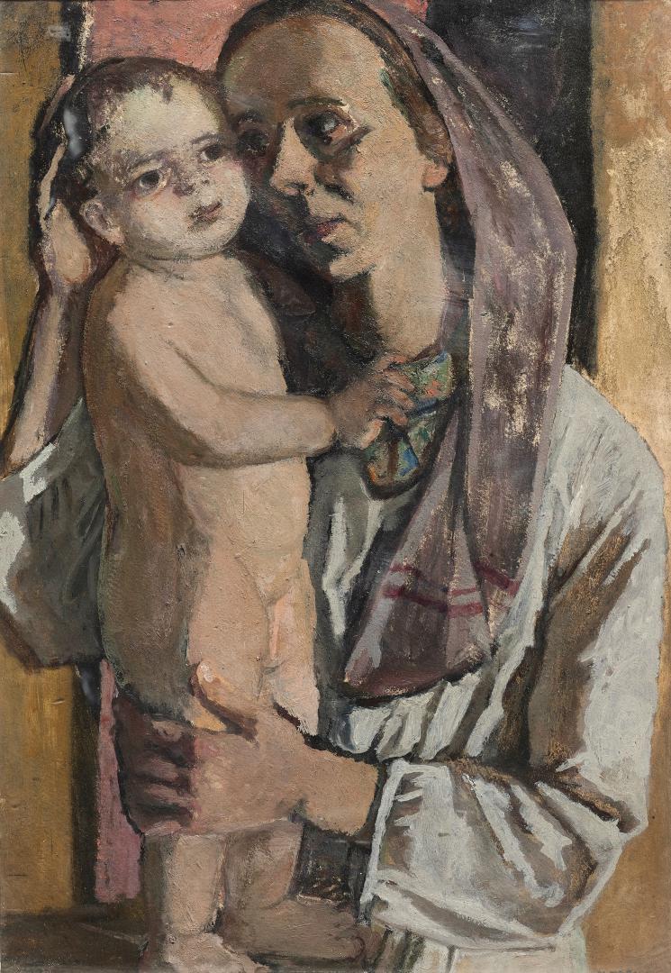 Autoritratto con la figlia Anna