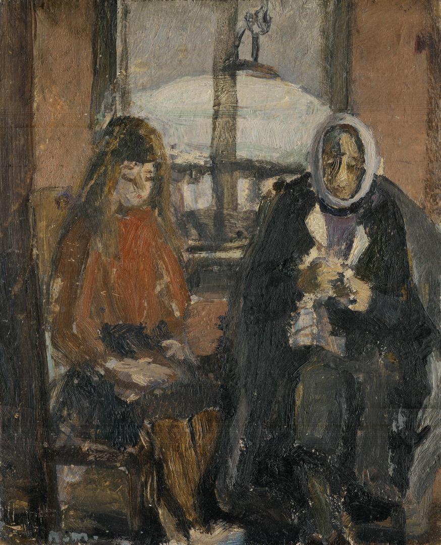 Pomeriggio d'inverno (Laura e la nonna)